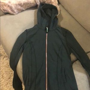 Dark green lulu lemon jacket